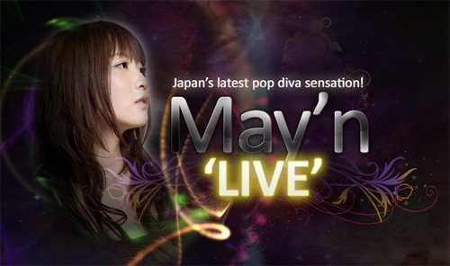 Anime Festival Asia - Catch May'n Live in Singapore!