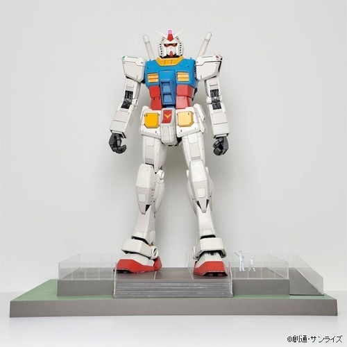 Odaiba Gundam Gone, But Miniature Gundam Available