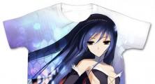 Accel World Kuroyukihime Full Graphic Shirt