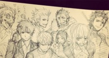 Blue Exorcist Mangaka Sketches Fate/Zero