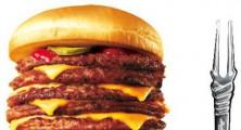 Evangelion Burger is 9 Patties Size