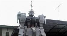 Stone Gundam Statue